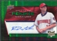 2008 Upper Deck Spectrum Green #137 Ross Detwiler Autograph