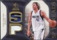 2007/08 Upper Deck SP Rookie Threads Patch #SPDN Dirk Nowitzki