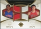 2007/08 Upper Deck Ultimate Collection Rookie Matchups Gold #GA Aaron Gray Arron Afflalo /50