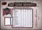 2008 Upper Deck UD A Piece of History Box Score Memories Jersey #BSM10 Alfonso Soriano
