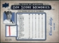 2008 UD A Piece of History Box Score Memories Jersey Blue #BSM43 Chase Utley /25