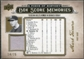 2008 Upper Deck UD A Piece of History Box Score Memories Jersey Gold #BSM4 Mark Teixeira /75