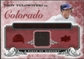 2008 Upper Deck UD A Piece of History Franchise History Jersey #FH19 Troy Tulowitzki