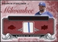 2008 Upper Deck UD A Piece of History Franchise History Jersey #FH28 Prince Fielder