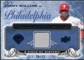 2008 UD A Piece of History Franchise History Jersey Blue #FH40 Jimmy Rollins /25