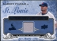 2008 UD A Piece of History Franchise History Jersey Blue #FH48 Albert Pujols /25