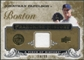 2008 Upper Deck UD A Piece of History Franchise History Jersey Gold #FH6 Jonathan Papelbon /99