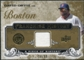 2008 Upper Deck UD A Piece of History Franchise History Jersey Gold #FH10 David Ortiz /99