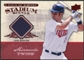 2008 Upper Deck UD A Piece of History Stadium Scenes Jerseys #SS32 Joe Mauer