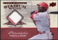 2008 Upper Deck UD A Piece of History Stadium Scenes Jerseys #SS44 Jimmy Rollins