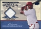 2008 UD A Piece of History Stadium Scenes Jersey Blue #SS2 Justin Upton /25