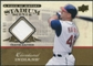 2008 Upper Deck UD A Piece of History Stadium Scenes Jersey Gold #SS18 Travis Hafner /99