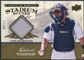 2008 Upper Deck UD A Piece of History Stadium Scenes Jersey Gold #SS23 Ivan Rodriguez /99