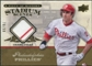 2008 Upper Deck UD A Piece of History Stadium Scenes Jersey Gold #SS42 Chase Utley /99