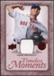 2008 Upper Deck UD A Piece of History Timeless Moments Jersey #8 Josh Beckett