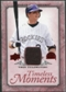 2008 Upper Deck UD A Piece of History Timeless Moments Jersey #18 Troy Tulowitzki