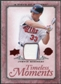 2008 Upper Deck UD A Piece of History Timeless Moments Jersey #28 Joe Mauer