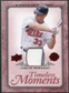 2008 Upper Deck UD A Piece of History Timeless Moments Jersey #29 Justin Morneau