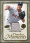 2008 Upper Deck UD A Piece of History Timeless Moments Jersey Gold #9 Curt Schilling /75