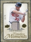 2008 Upper Deck UD A Piece of History Timeless Moments Jersey Gold #29 Justin Morneau /75