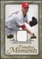 2008 Upper Deck UD A Piece of History Timeless Moments Jersey Gold #48 Chris Carpenter /75