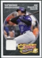 2008 Upper Deck Heroes Jersey Black #57 Troy Tulowitzki /125