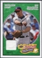 2008 Upper Deck Heroes Jersey Emerald #6 Chipper Jones /25
