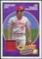 2008 Upper Deck Heroes Patch Purple #50 Johnny Bench 1/5