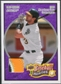 2008 Upper Deck Heroes Patch Purple #128 Eric Chavez /5