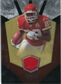2008 Upper Deck Icons Rookie Brilliance Jersey Silver #RB17 Jamaal Charles /199