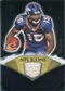 2008 Upper Deck Icons NFL Icons Jersey Silver #NFL3 Brandon Marshall /150