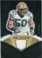2008 Upper Deck Icons NFL Icons Jersey Silver #NFL5 A.J. Hawk /150