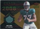 2008 Upper Deck Icons Class of 2008 Jersey Gold #CO7 Jake Long /75