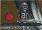 2008 Upper Deck Icons NFL Chronology Jersey Gold #CHR27 Jerry Rice /50