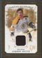 2008/09 Upper Deck UD Masterpieces Canvas Clippings Brown #CCBU Johnny Bucyk