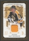2008/09 Upper Deck UD Masterpieces Canvas Clippings Brown #CCRB2 Ray Bourque