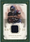 2008 Upper Deck UD Masterpieces Captured on Canvas Jerseys #CC58 Steve Slaton