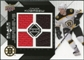 2008/09 Upper Deck Black Diamond Jerseys Quad #BDJCK Chuck Kobasew