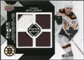 2008/09 Upper Deck Black Diamond Jerseys Quad #BDJMA Mark Stuart