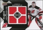 2008/09 Upper Deck Black Diamond Jerseys Quad #BDJMB Martin Brodeur