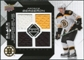 2008/09 Upper Deck Black Diamond Jerseys Quad #BDJPB Patrice Bergeron