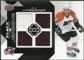2008/09 Upper Deck Black Diamond Jerseys Quad #BDJRJ R.J. Umberger