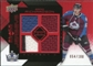 2008/09 Upper Deck Black Diamond Jerseys Quad Ruby #BDJBR Brad Richardson /100