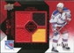 2008/09 Upper Deck Black Diamond Jerseys Quad Ruby #BDJCD Chris Drury /100
