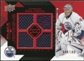 2008/09 Upper Deck Black Diamond Jerseys Quad Ruby #BDJDR Dwayne Roloson /100