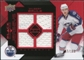 2008/09 Upper Deck Black Diamond Jerseys Quad Ruby #BDJGB Gilbert Brule /100