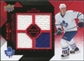 2008/09 Upper Deck Black Diamond Jerseys Quad Ruby #BDJIW Ian White /100