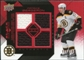 2008/09 Upper Deck Black Diamond Jerseys Quad Ruby #BDJPB Patrice Bergeron 86/100