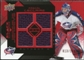 2008/09 Upper Deck Black Diamond Jerseys Quad Ruby #BDJPL Pascal Leclaire /100