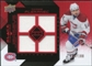 2008/09 Upper Deck Black Diamond Jerseys Quad Ruby #BDJTP Tomas Plekanec /100